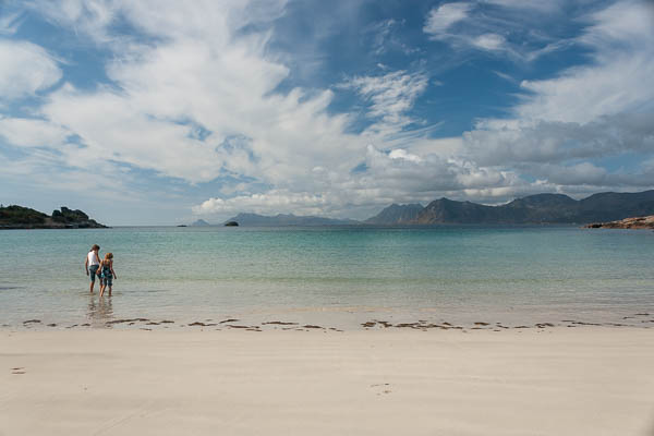 Strand bei Svolvaer
