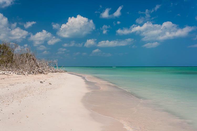 Strand, Kuba, Einsamkeit