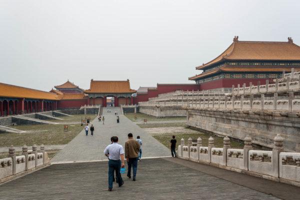 Beijing, Peking, China, Verbotene Stadt