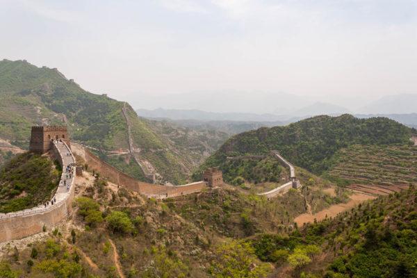 Große Mauer, China, Simatai