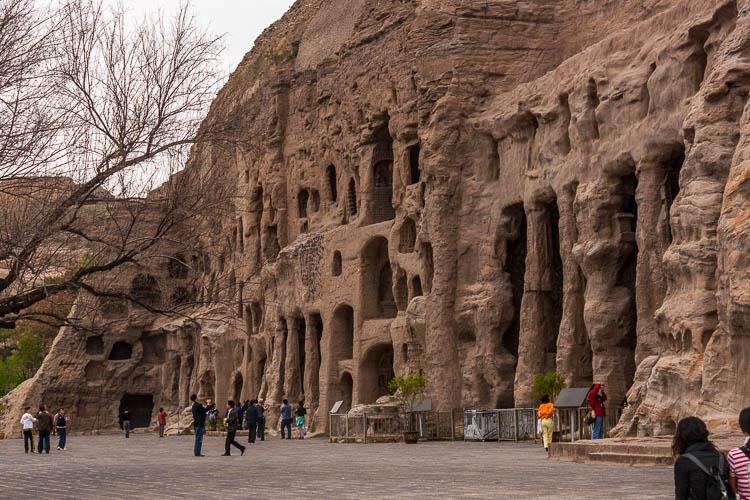 Datong, Yungang Höhlen, Buddhas, China