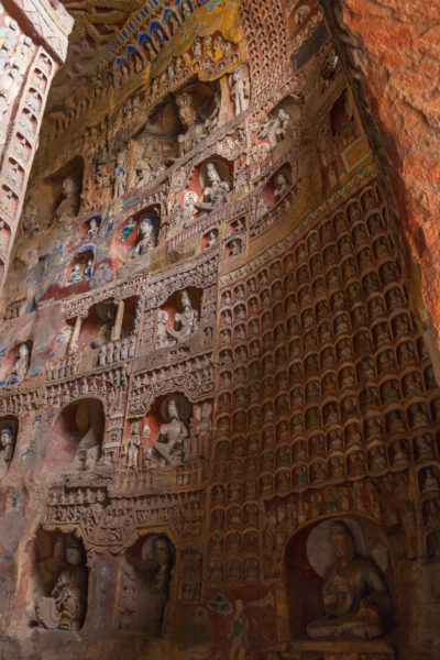 Buddhas, Grotten von Yungang, Datong, China