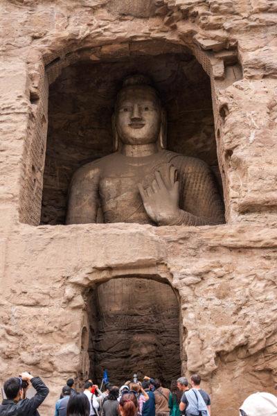 Buddha, Grotten von Yungang, Datong, China