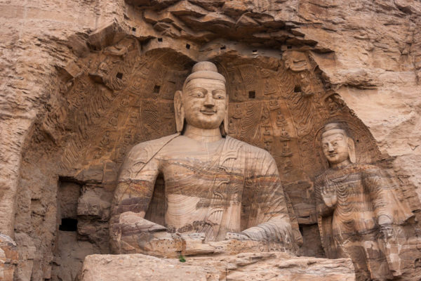 Buddha, Datong, China, Yungang