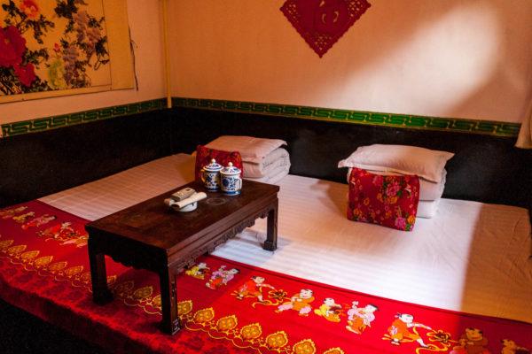 Harmony Hostel, Pingyao, China, Bett