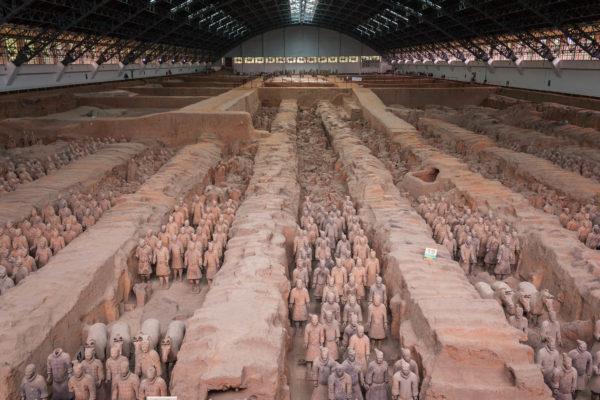 China, Xian, Terrakotta Armee