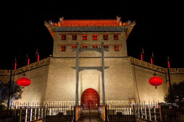 China, Xian, Stadttor