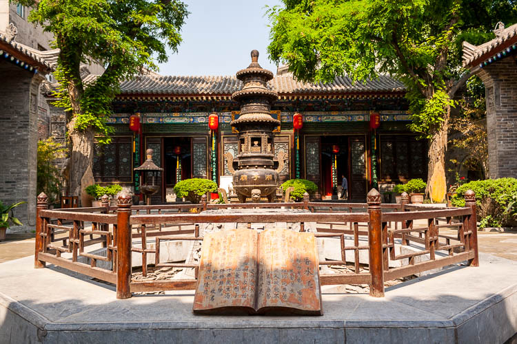 Xi'an, Tempel, China