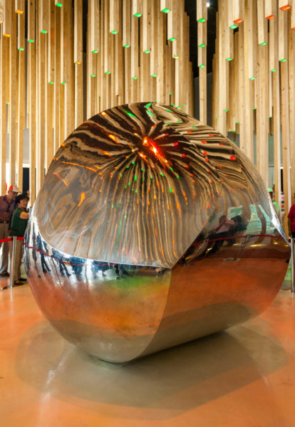 Gömböc, Expo 2010, Shanghai, China