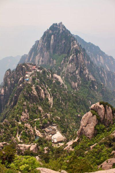 Huang Shan, China, Lotus Peak