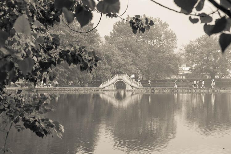 Brücke, Hongcun, China