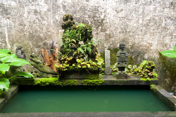 Xidi, China, Innenhof