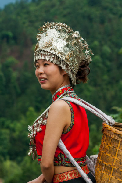 Modell, Dazhai, China, Dragon's Backbone