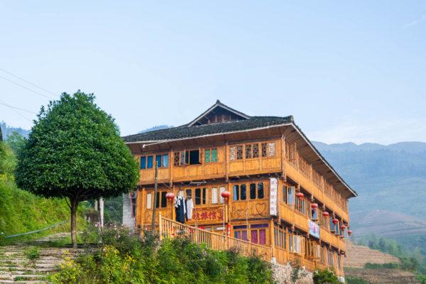 Hotel, Dazhai, China, Dragon's Backbone