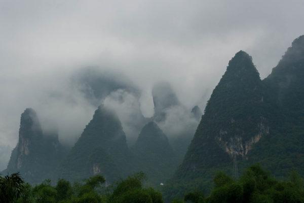 Xingping, Karsthügel, China
