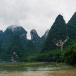 Die Karsthügel bei Xingping