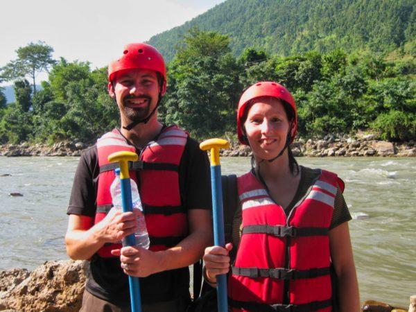 Rafting auf dem Trishuli