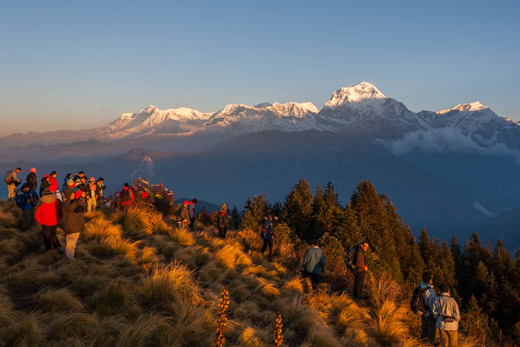 Poon Hill, Nepal, Sonnenaufgang