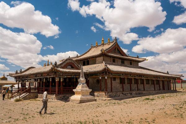 Tempel, Gobi, Wüste, Mongolei