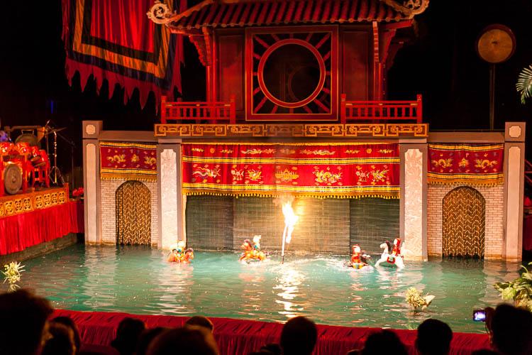 Wasserpuppentheater Hanoi