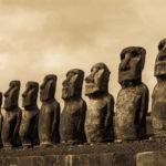 Mystische Steinköpfe auf der Osterinsel