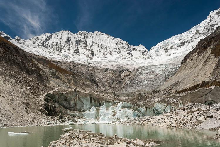 Huaraz, Peru, Gletscher, Eisklettern