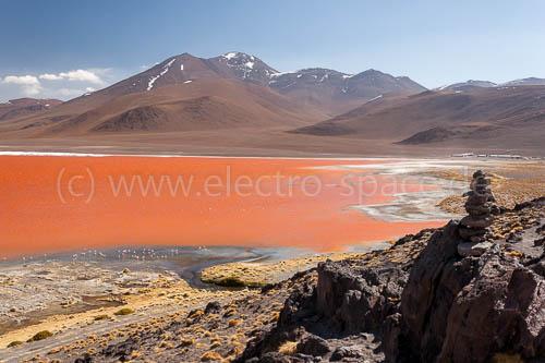 Bolivien, Laguna Colorada