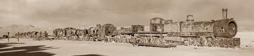 Bolivien, Eisenbahnfriedhof