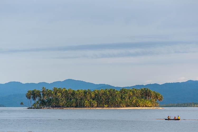 San Blas, Panama, Insel