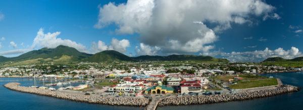 St. Kitts, Panorama, Hafen