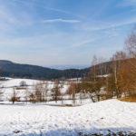 Frühlingswochenende mit Schnee in Viechtach