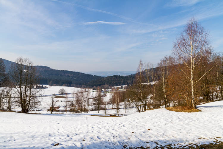 Schnee, Viechtach