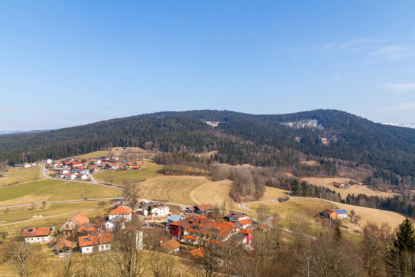 Viechtach, Landschaft, Frühling