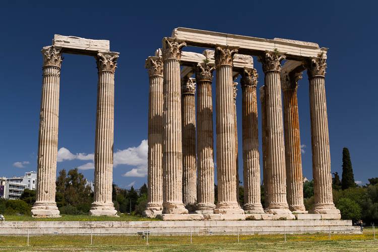 Athen, Zeustempel
