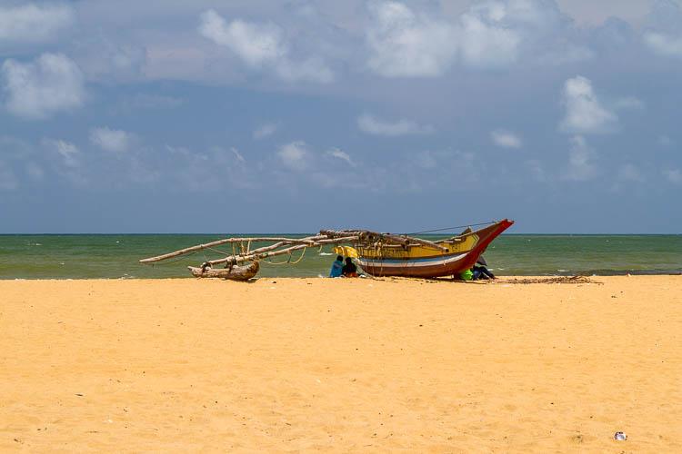 Strand, Boot, Negombo, Sri Lanka