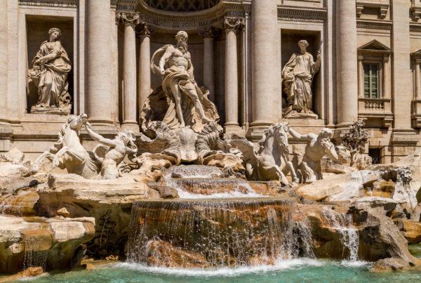 Trevi-Brunnen, Rom, Italien