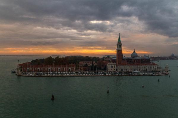 Venedig, Kreuzfahrt, Sonnenuntergang