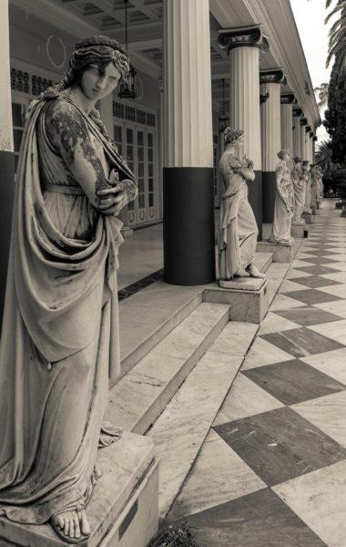 Achilleion, Korfu, Statuen, Griechenland