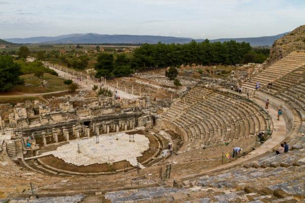 Theater, Ephesus, Türkei