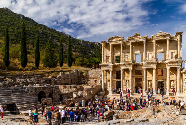 Celsus-Bibliothek, Ephesus, Türkei