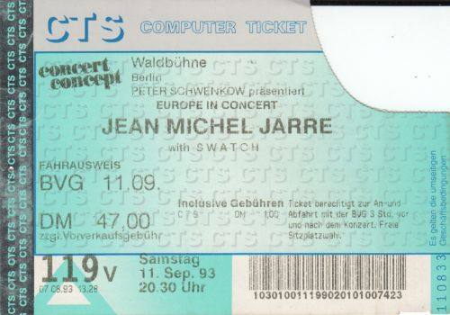 1993 Jarre Berlin