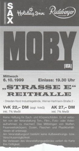 1999 Moby Dresden