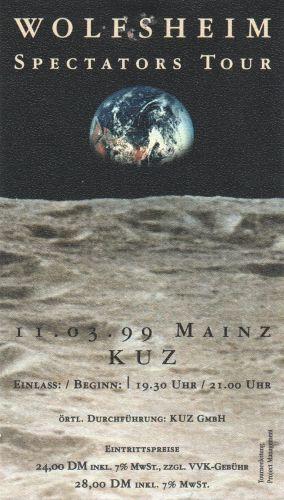 1999 Wolfsheim Mainz