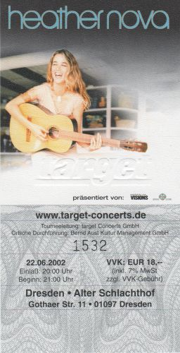 2002 Heather Nova Dresden