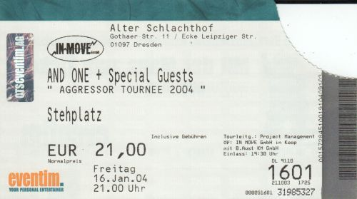 2004 And One Dresden