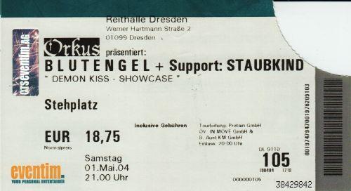 2004 Blutengel Dresden