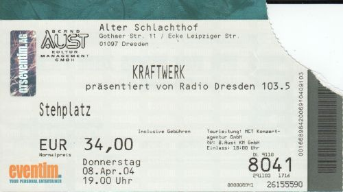 2004 Kraftwerk Dresden
