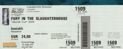 2005 Fury in the slaughterhouse Dresden