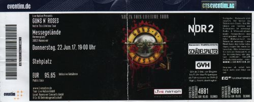 2017 Guns 'N Roses Hannover
