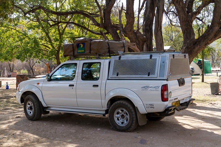 Camper, Namibia